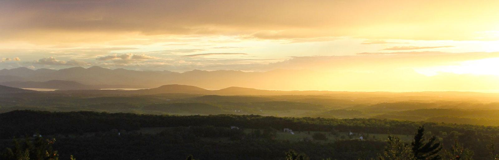 Scenic Vermont View