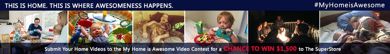 My Home is Awesome Video Contest