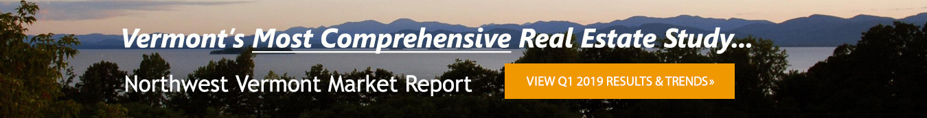 Vermont Real Estate Market Report Q1 2019
